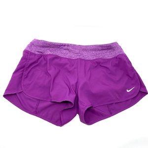 Nike 3 Inch Rival Purple Running Short